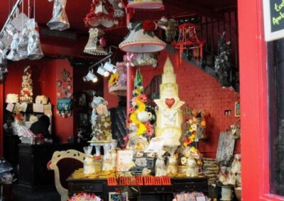Choccywoccydoodah! Carnaby Street Cafe in London Takes the Cake!