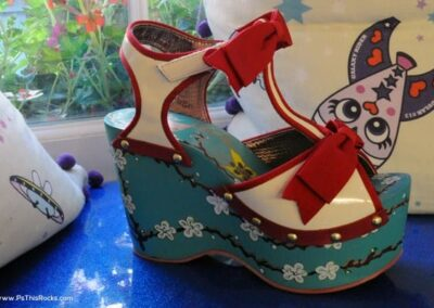 Irregular Choice for Designer Shoes: Characters for your feet